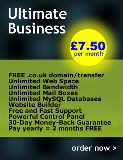 Ultimate Business @ £7.50 per month
